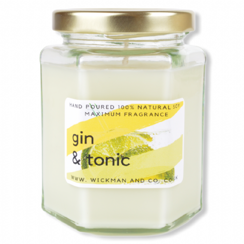 Gin & Tonic Soy Wax Candle